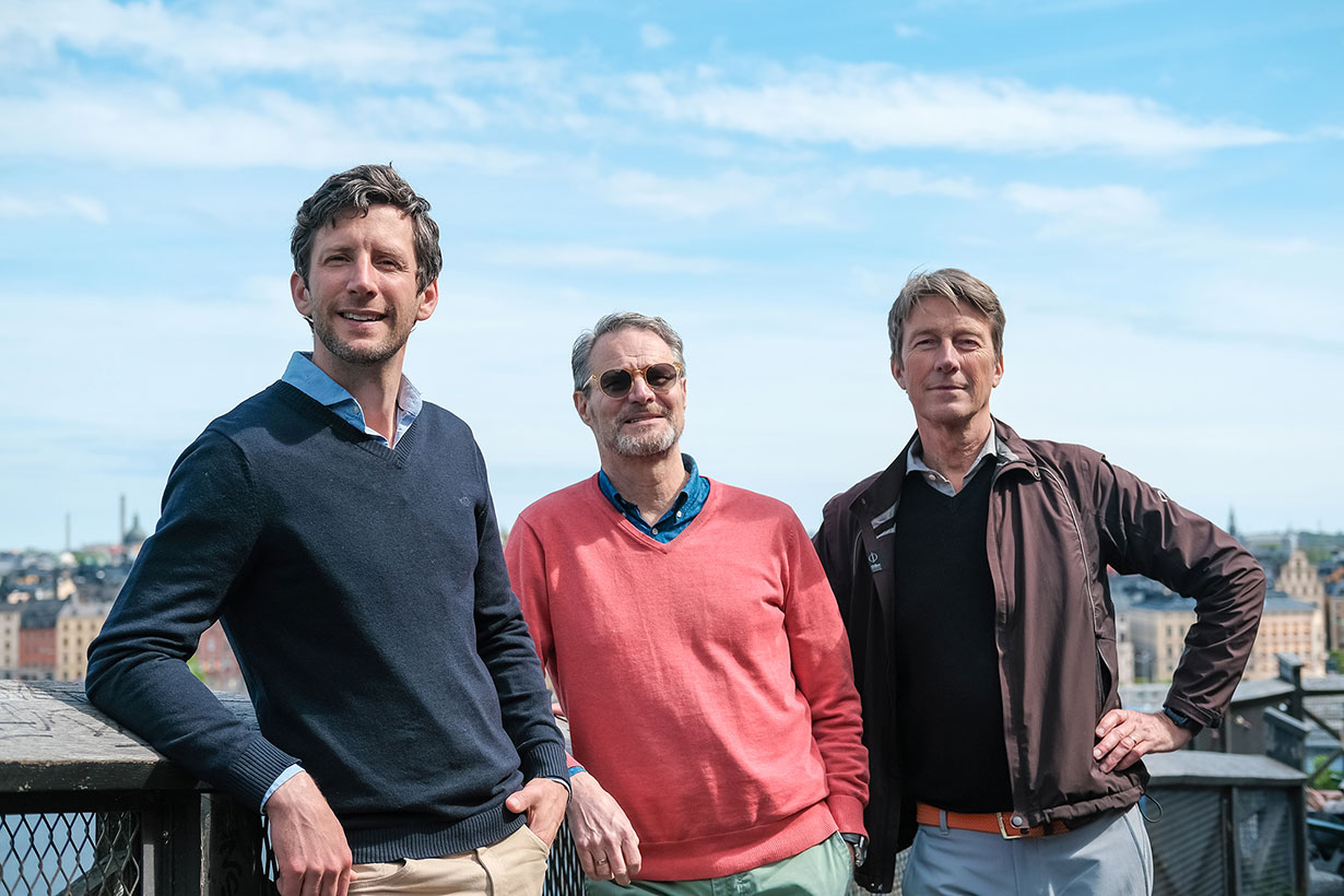 Founders Invoier, fintech startup