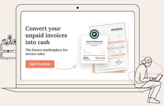 Sälj enstaka eller flera fakturor med Invoier Flex